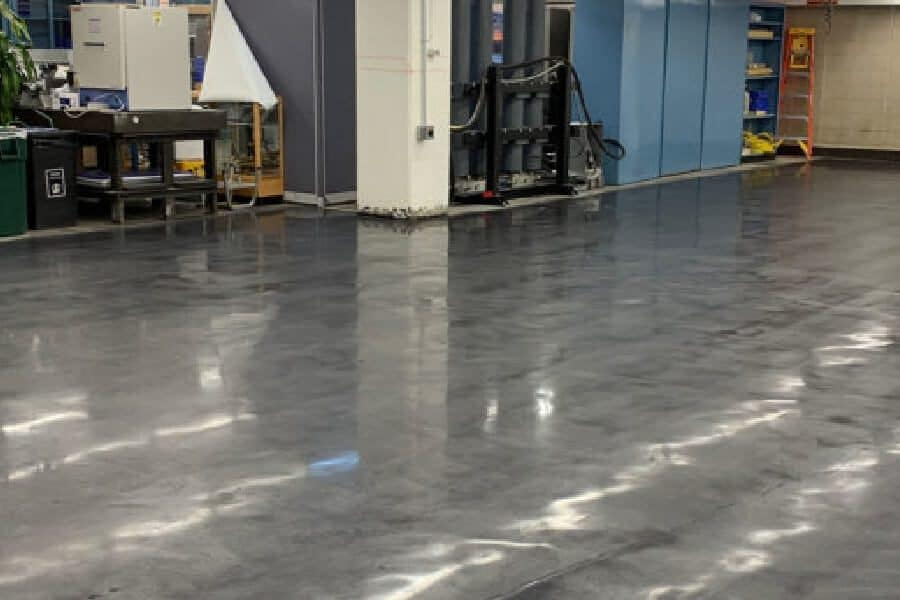 polished concrete design choices