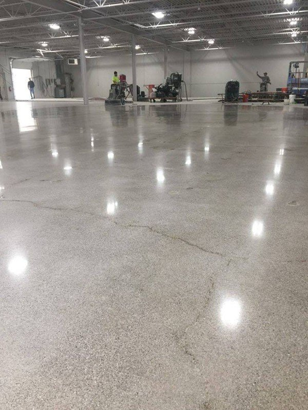 Types of Industrial Epoxy Concrete Floors