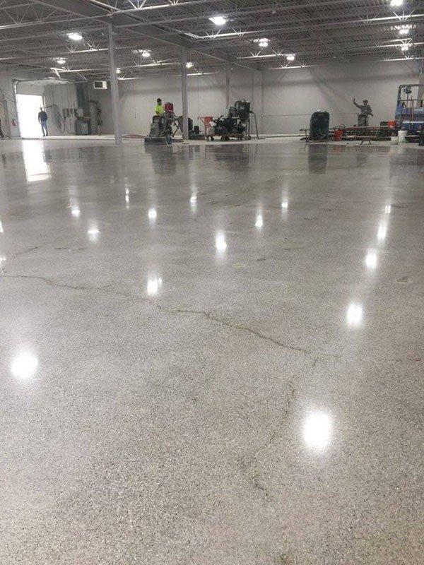 Types of Industrial Epoxy Concrete Floors