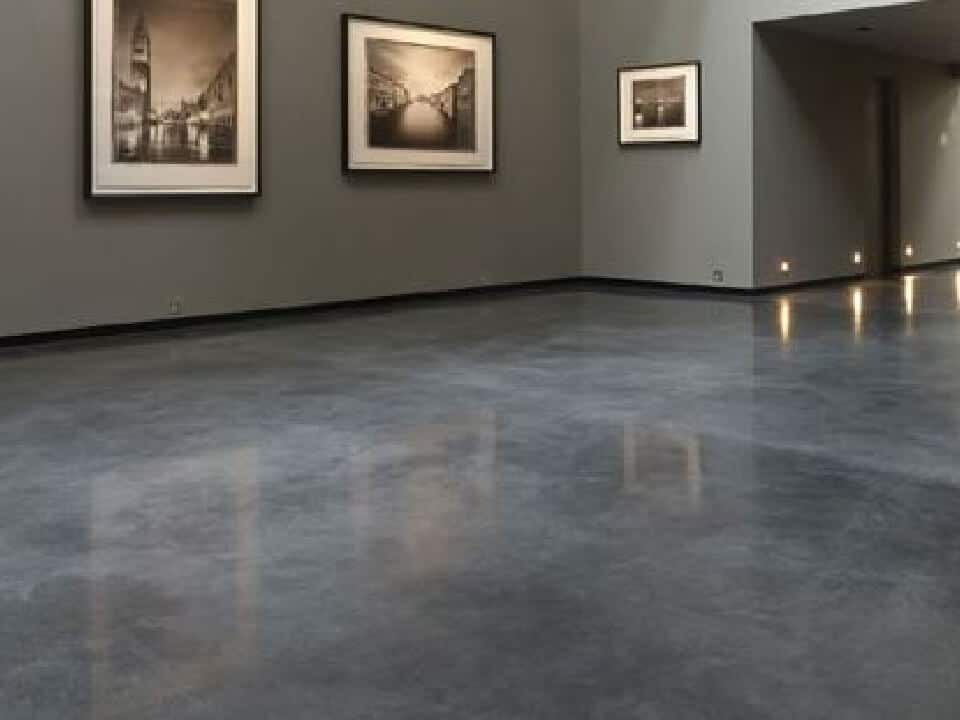 Gallery polished concrete