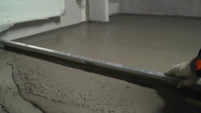 self leveling concrete floor manhattan